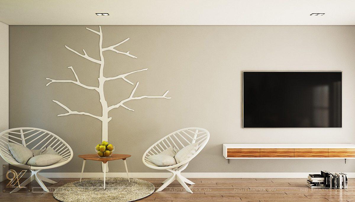 Thiết kế ngủ master view 2 - Chung cư Vinhomes Gardenia/Anh Chính