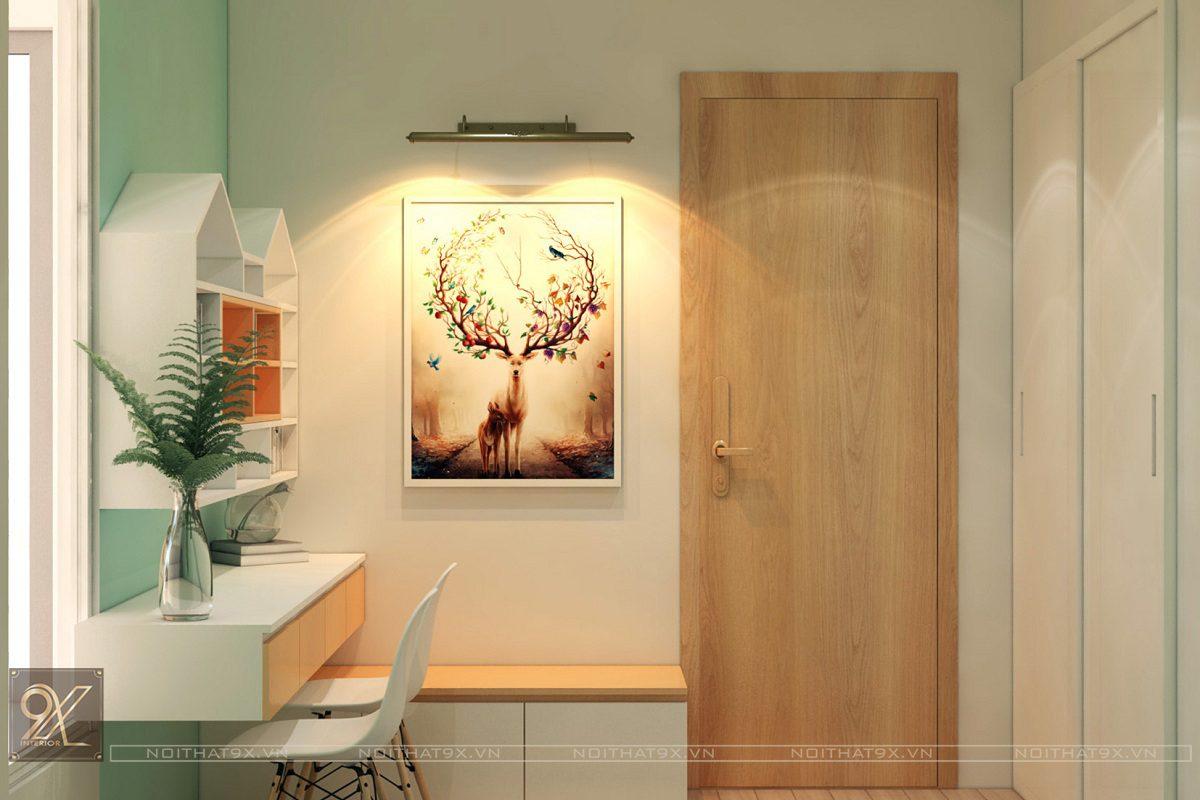 Thiết kế ngủ con view 2 - Chung cư Vinhomes Gardenia/Anh Chính