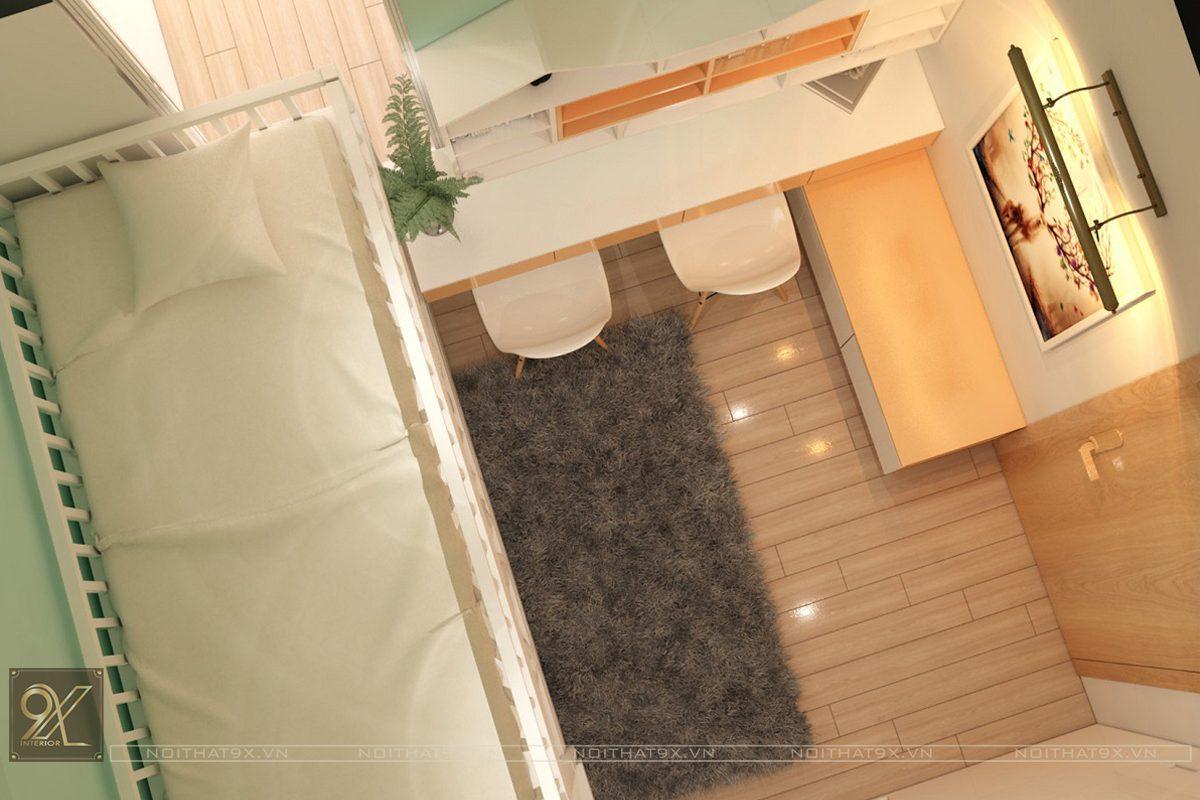 Thiết kế ngủ con view 1 - Chung cư Vinhomes Gardenia/Anh Chính
