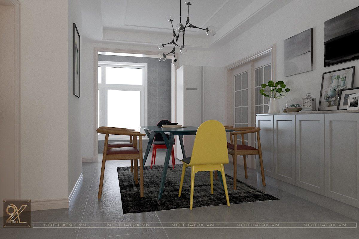 Thiết kế phòng khách view 4 - Chung cư Vinhomes Gardenia/Anh Chính