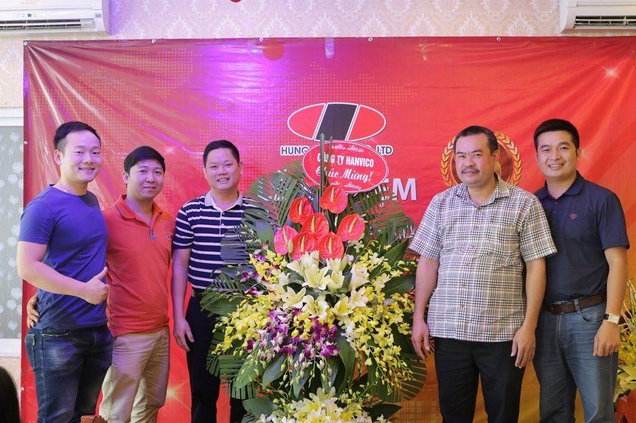Lễ kỉ niệm 15 năm ngày thành lập công ty Hùng Sơn