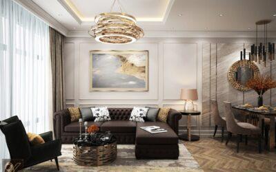 Thiết kế phòng khách anh Thanh – Chung cư Imperia Giải Phóng