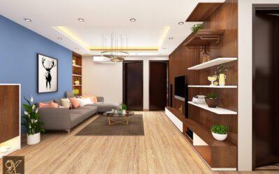 Thiết kế nội thất phòng khách A Hải – Eurowindow