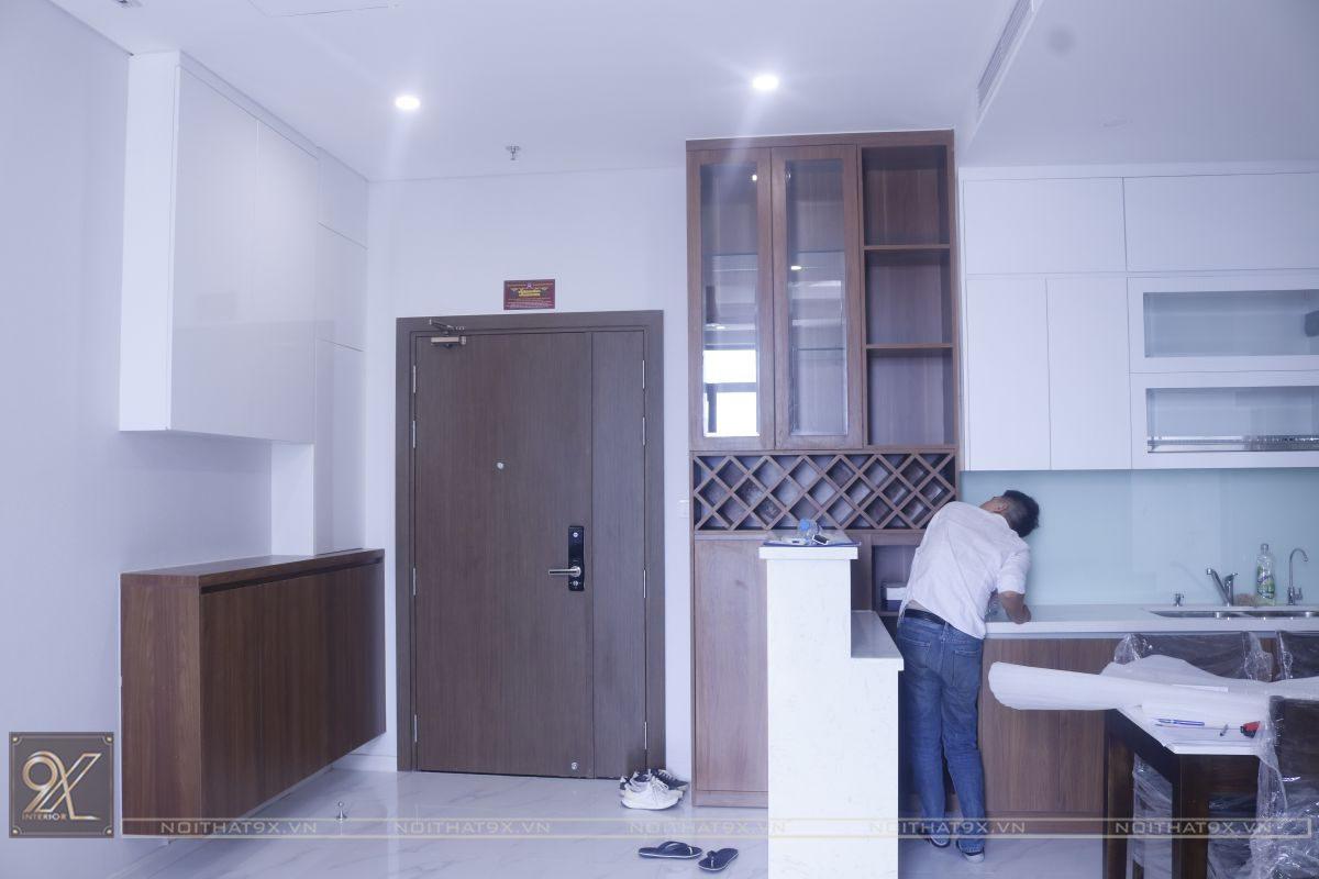 Công trình chung cư cô Hoa – Mỹ Đình Pearl