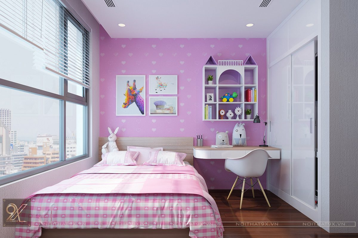 Top 10 mẫu nội thất phòng ngủ cho bé gái tuyệt đẹp