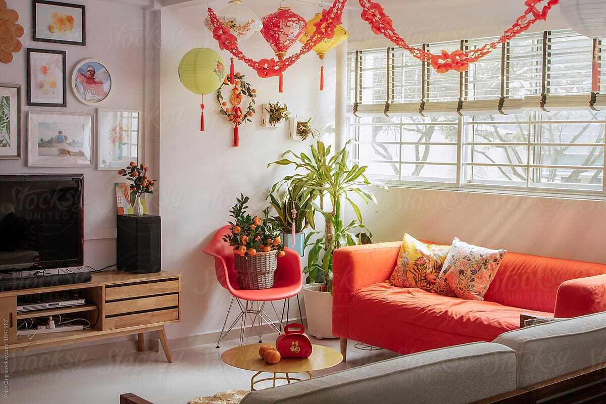 Các mẫu nội thất tuyệt vời cho nhà xinh đón Tết
