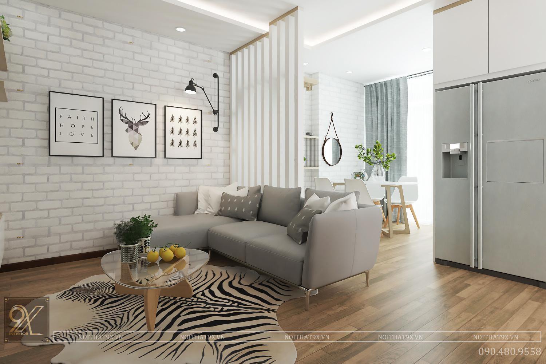 8 Cách tạo ấn tượng mạnh mẽ cho thiết kế nội thất căn hộ