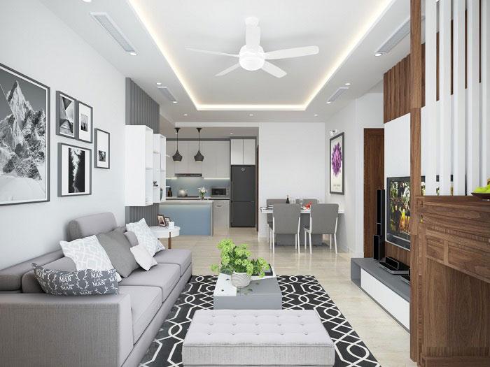 Mẫu phong cách thiết kế nội thất chung cư hiện đại